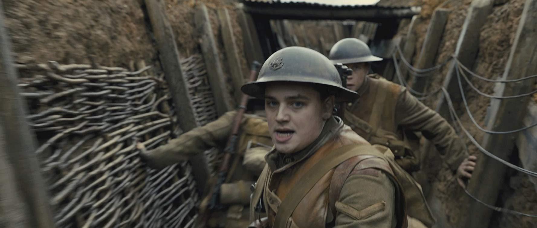 kadr z filmu 1917 Sama Mendesa