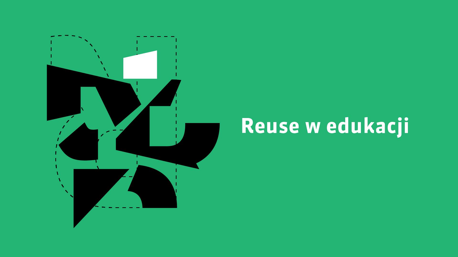 plakat zapowiadający publikację Reuse w edukacji