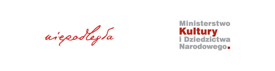 logo programu Niepodległa oraz Ministerstwa Kultury i Dziedzictwa Narodowego