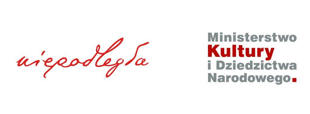 logo programu Niepodległa i MKiDN