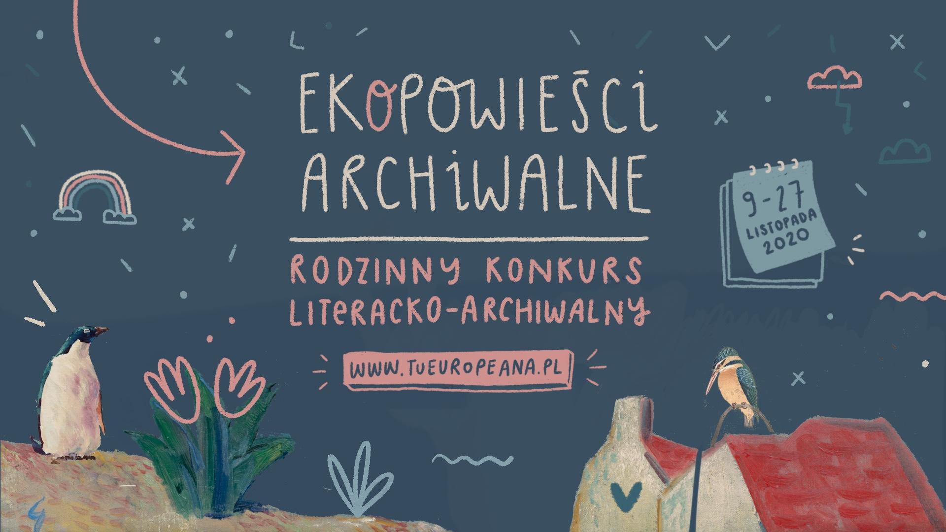 """Konkurs literacki """"EKOPowieści archiwalne"""""""