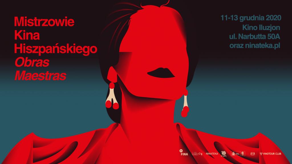 plakat przeglądu kina hiszpańskiego